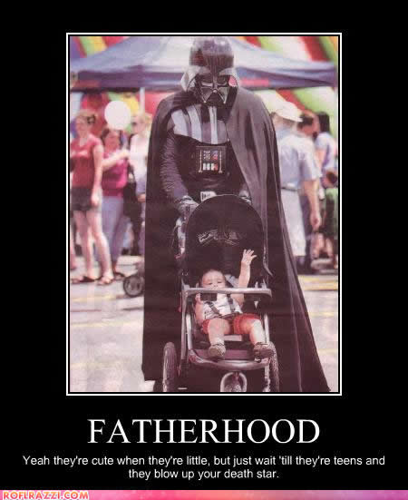 Darth Vader on Fatherhood