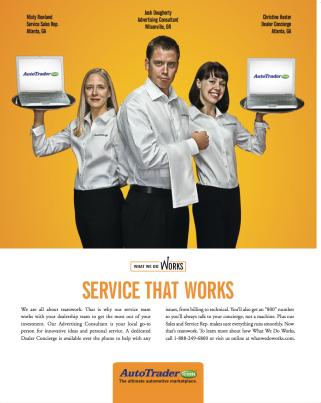 AutoTrader.com Service Ad