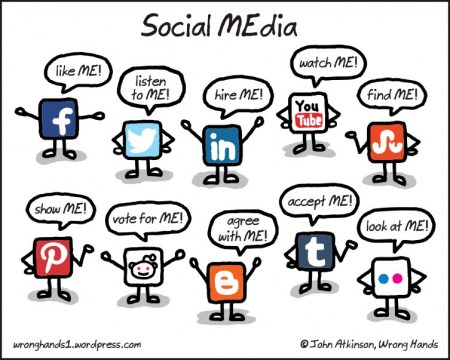 So many social media sites, so little time...