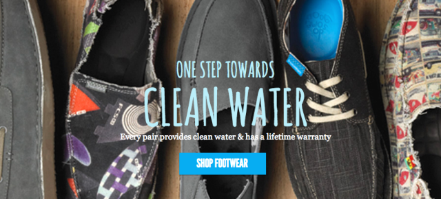 Freewaters: Selling shoes and doing good.