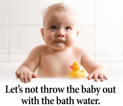 baby bath water